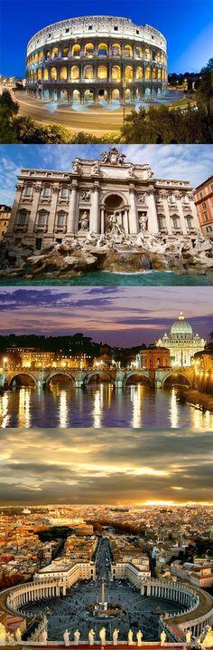 Roma, La Magnífica Capital de Italia Roma, maravilloso destino turístico italiano, tiene para todos los turistas, las mejores opciones para pasarla bien durante las vacaciones. Si tienes ganas de pasarla bien, ven a conocer esta maravillosa ciudad y disfruta de su clima agradable, de sus encantos bohemios, de su exquisita gastronomía y de la extraordinaria belleza de sus paisajes. No te arrepentirás. Te lo aseguro.