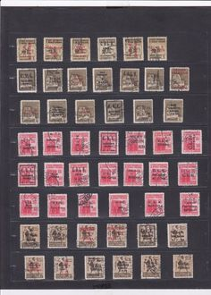 1323 Italy Stamps Used 1944 Post Sociale Repubblica Italiana Great Selection HCV
