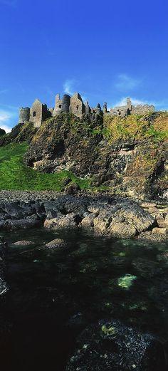 Dunluce Castle, County Antrim, Ireland