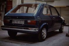 Volkswagen / VW Golf I - prototype for US version. Right view with three doors