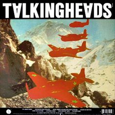 Talking Heads: Remain In Light 1980 (c) Sire  The cover art was conceived by Weymouth and Frantz with the help of Massachusetts Institute of Technology researcher Walter Bender and his MIT Media Lab team. Using Melody Attack as inspiration, the couple created a collage of red warplanes flying in formation over the Himalayas. The planes are an artistic depiction of Grumman Avenger planes in honour of Weymouth's father who was a US Navy Admiral. The idea for the back cover included