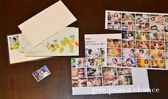 "ID cards for kids  If you order prints from ... well, just about anywhere. You get these little thumbnail sheets. Well I took some of the pictures and made little ID cards for my kids. I made their cards on the back of my ""Mommy calling cards"" that they used for play dates."