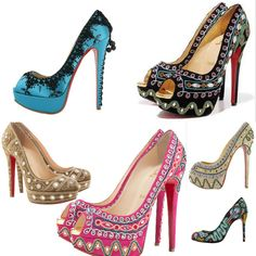 Louboutin-International Fashion Design inspired by Indian Handicraft and Bollywood
