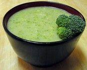 Broccoli & Cauliflower Soup - broccoli, cauliflower, butter, salt, pepper, chicken stock (optional) - Strict Candida Diet