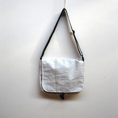 Eco Friendly Sail Messenger Bag by reiter8