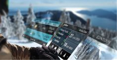 Snowboarding and Skiing Goes High Tech with Recon's Snow2 #wearabletech