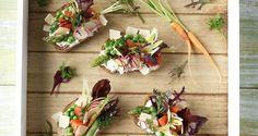 Μπρουσκέτες με λαχανικά και τυρί κρέμα Feta, Appetizers, Cheese, Recipes, Cyprus News, Smoothie, Snacks, Rezepte, Ripped Recipes