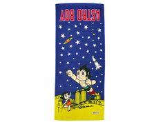 Astro Boy Might Atom & Uran Face Towel Osamu Tezuka JAPAN