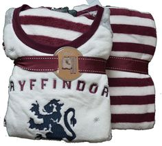 PRIMARK GRYFFINDOR FLEECE HARRY POTTER PJ'S PYJAMA SET sizes 6 - 20