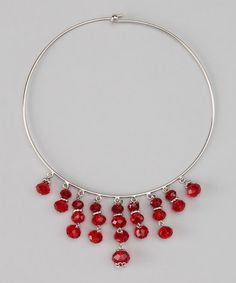 Take a look at this Red Luxe Choker by 1928 Jewelry Company on #zulily today!