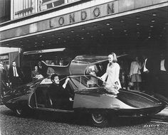 concept vehicle created for the British UFO TV series.