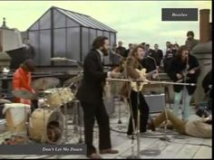 Beatles - Don't Let Me Down- Rooftop Live 1969 HQ - YouTube.flv