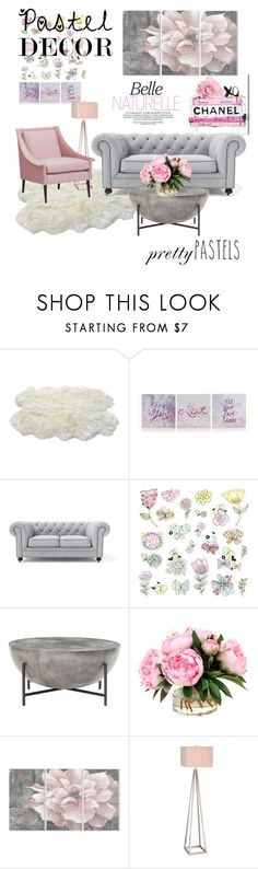 """""""Untitled #156"""" by sadikovicadela ❤ liked on Polyvore featuring interior, interiors, interior design, home, home decor, interior decorating, York Wallcoverings, Stupell, Catalina and pasteldecor"""