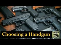Choosing Handgun (video) - Sensible Prepper talks about choosing a handgun and gives his own opinion on the subject which offering up many questions regarding the subject. If you're new to handguns and need some direction consider this advice…