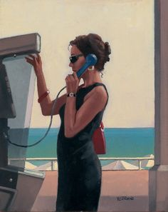 Jack Vettriano Her Secret Life II oil painting for sale