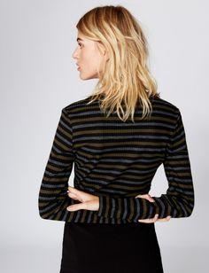 Nicole Miller:  Vintage Striped Top
