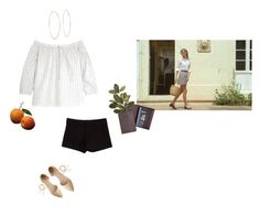 """""""Vacaciones"""" by thepedigreeofhoney ❤ liked on Polyvore featuring Madewell, Royce Leather, Alice + Olivia, Michael Kors and J.Crew"""