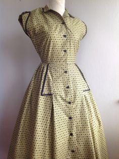 1950s Horrockses dress
