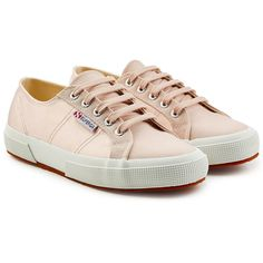 Superga 2750 Cotu Classic Sneakers ($89) ❤ liked on Polyvore featuring shoes, sneakers, pink, tennis sneakers, superga, summer shoes, tennis shoes and superga shoes