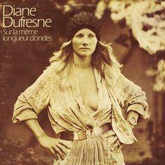 Sur la meme longueur by Diane Dufresne, LP with francophonies -