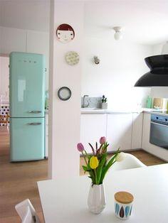 I love my smeg, Foto von Mitglied Luise #solebich #interior #interiordesign #retro #smeg #küche #kitchen