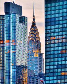 Chrysler Building by @gigi.nyc #newyorkcityfeelings #nyc #newyork