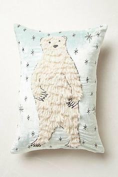 Boreal Forest Applique Pillow
