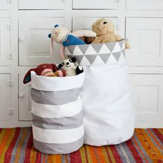 Toy Storage #beginnersewingprojects #beginnersewing #toystorage #fabricbags