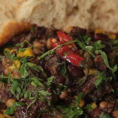 Chilli con carne Beef, Cooking, Food, Meat, Kitchen, Essen, Meals, Yemek, Brewing