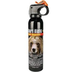 The GUARD ALASKA® BEAR SPRAY  ultra hot pepper spray has proven so effective at repelling bears, it is the only one registered with the EPA as a repellent for all species of bears! It is  absolutely the most effective and powerful bear defense spray available. It is safe for the environment in that it does not contain flammable or ozone depleting substances, and it has no expiration date.