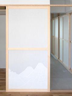 芦花公園の住宅|House in Roka-koen Japanese Interior, Japanese Design, Shoji Doors, Washitsu, Architect Design, Door Design, Lighting Design, Interior Design, Architecture