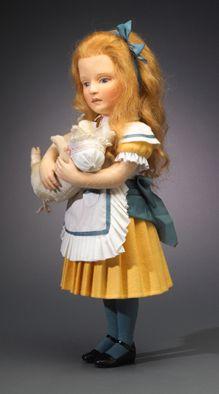 R. John Wright Presents: The Nursery Alice from the 'Alice in Wonderland' Collection - R. John Wright, Bennington, VT