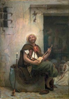 Guillaume Charles Brun (French: 1825 - 1908) - French poverty genre