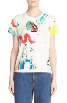 MARC JACOBS Collage Print Cotton Tee available at #Nordstrom