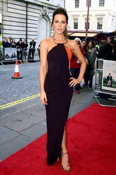 """Kate Beckinsale. Premiere de """"Love and Friendship"""" en Londres."""