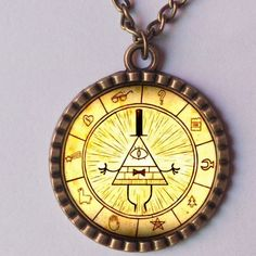 GRAVITY FALLS BILL CIPHER WHEEL http://www.aliexpress.com/store/product/Wholesale-2-9-Lot-GRAVITY-FALLS-BILL-CIPHER-WHEEL-Necklace-Antique-Glass-Pendant-Jewelry-Gift-Chain/811473_32261022881.html