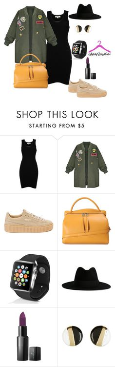 """""""Untitled #408"""" by brittanynicole-v on Polyvore featuring Jean-Paul Gaultier, WithChic, Puma, Jil Sander, Apple, Yves Saint Laurent and Vincent Longo"""