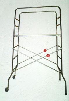 Trabattello mobile, ponteggio per pittore imbianchino  SUPER altezza 230cm impalcatura per interni ed esterni