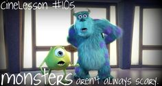 Monsters Inc - one of my favorite family movies. :)
