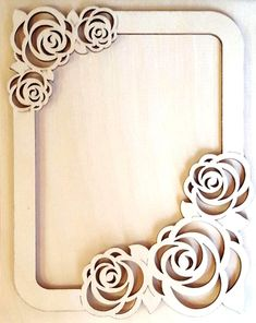 Frame for mirror/photo - model for laser cut for CNC Router Engraver Carving Machine - digital d 3d Laser, Laser Cut Wood, Laser Cutting, Laser Cutter Ideas, Laser Cutter Projects, Photo 3d, Photo Frame Design, Scroll Saw Patterns Free, 3d Modelle
