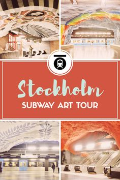 Stockholm Subway Art Tour: At 110 km long, Stockholm's subway system is said to be the longest art exhibit in the world. One of the highlights of a trip to Stockholm is taking a tour of the unique subway art.