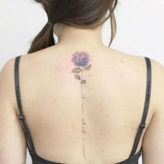 "carnation back tattoo | Über 1.000 Ideen zu ""Blume Rücken Tattoos auf Pinterest | Rücken ..."