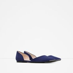 Image 3 of D'ORSAY SHOES WITH METAL DETAIL from Zara