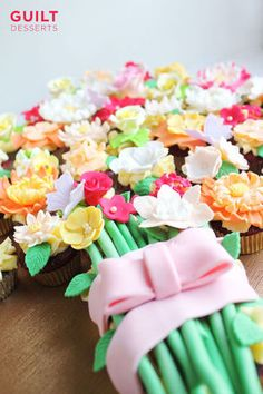 Flower Cupcakes Bouquet