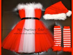 Christmas Tutu Dress really think that I want to make this for the holiday party!!