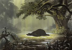 Enjoy a collection of 40+ Original Concept Art made for Disney's Jungle Book. Bagheera the Panther and Baloo the Bear have a difficult time trying to convi