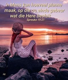 Afrikaans, Sunday School, Live Life, Verses, Bible, God, Sayings, Movie Posters, Lisa