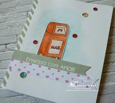 Docerela, Enviado com Amor, postal, S. Valentim