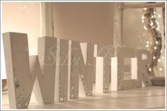 erhältlich hier: http://de.dawanda.com/product/57530583-winter-18cm-hoch-6-buchstaben-craquele WINTER, Shabby, Buchstaben, Letters, Spiegelmosaik, Krakeleè, Handarbeit, Holz, Silvi K.