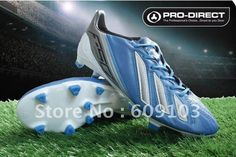 2013 Messi 7 Generation Soccer Shoes/Boots Blue Leather Skin on AliExpress.com. $63.00